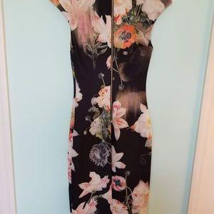 Ted Baker Opulent Blooms Dress size 1